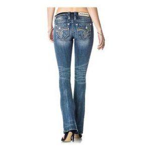 Rock Revival Elsie Destruction Boot Jeans